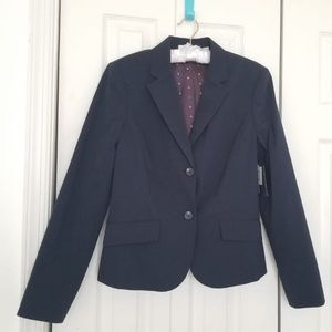 Liz claiborne navy blue blazer